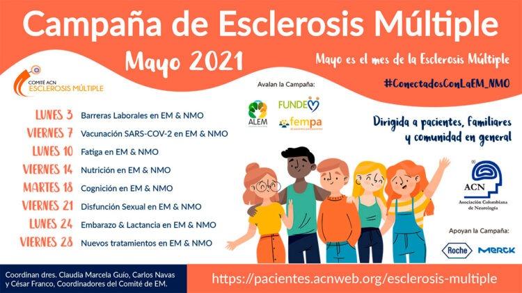 Campaña de esclerosis múltiple